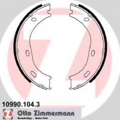 Set saboti frana, frana de mana MERCEDES-BENZ HECKFLOSSE 220 B - ZIMMERMANN 10990.104.3