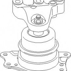 Suport motor AUDI A1 Sportback 1.2 TFSI - TOPRAN 113 305 - Suporti moto auto