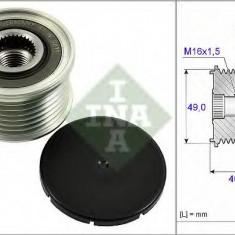 Sistem roata libera, generator BMW X5 3.0 si - INA 535 0254 10 - Fulie