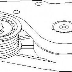 Intinzator curea, curea distributie VW PASSAT 2.8 VR6 - TOPRAN 109 169 - Intinzator Curea Distributie