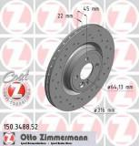 Disc frana MINI MINI cupe John Cooper Works - ZIMMERMANN 150.3488.52