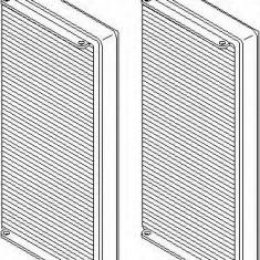 Filtru, aer habitaclu MERCEDES-BENZ E-CLASS limuzina E 220 D - TOPRAN 400 208 - Filtru polen