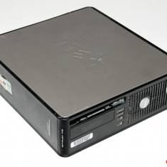 Calculator SFF Dell Optiplex 745 Intel Core 2 Duo E6300 1.86GHz, 4GB DDR2, 250GB HDD, 2PSTS2J - Sisteme desktop fara monitor