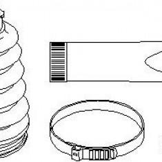 Ansamblu burduf, articulatie planetara MERCEDES-BENZ A-CLASS A 140 - TOPRAN 400 729 - Burduf auto