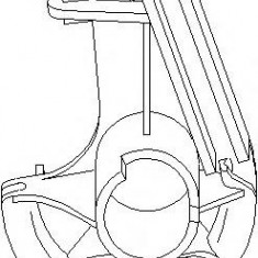 Chit reparatie, ambreiaj automat FORD TRANSIT TOURNEO 2.5 TD - TOPRAN 301 345 - Comanda ambreiaj