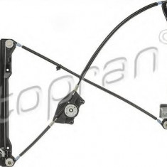 Mecanism actionare geam VW NOVO FUSCA 2.0 - TOPRAN 114 400 - Macara geam