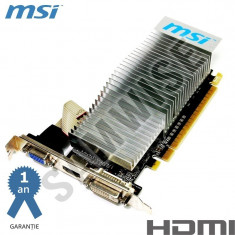 Placa video MSI GeForce GT210 1GB DDR3 64-Bit DVI VGA HDMI..**GARANTIE !!** - Placa Video Ati Radeon HD 5450 Asus