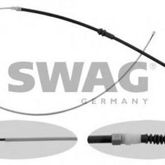 Cablu, frana de parcare VW CADDY III combi 1.6 BiFuel - SWAG 30 93 6957