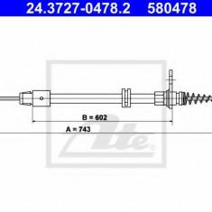 Cablu, frana de parcare MERCEDES-BENZ CLS CLS 350 - ATE 24.3727-0478.2
