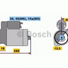 Starter OPEL MANTA B 1.2 N - BOSCH 0 001 108 080 - Cablu frana de mana