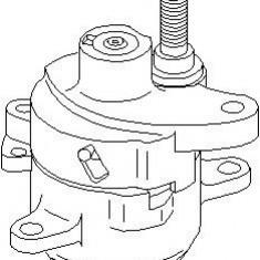 Intinzator curea, curea distributie VW LT Mk II bus 2.3 - TOPRAN 400 012 - Intinzator Curea Distributie