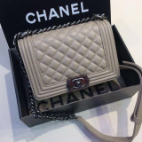 Genti De LuxRomania Chanel Le Boy Mini Size Collection