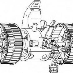 Ventilator, habitaclu BMW 5 limuzina 520 i - TOPRAN 501 789 - Motor Ventilator Incalzire