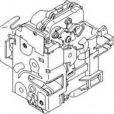 Incuietoare usa AUDI A6 limuzina 1.8 T - TOPRAN 113 552 - Incuietoare interior - exterior