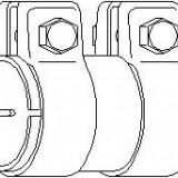 Conector teava, sistem de esapament - TOPRAN 107 221