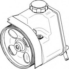 Pompa hidraulica, sistem de directie PEUGEOT 206 hatchback 1.1 i - TOPRAN 722 567 - Pompa servodirectie