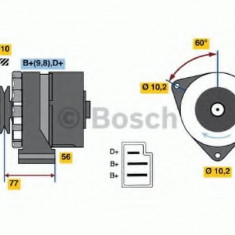 Generator / Alternator SEAT IBIZA  1.2 - BOSCH 0 986 030 720 - Alternator auto