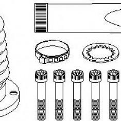 Ansamblu burduf, articulatie planetara VW POLO 55 1.3 - TOPRAN 104 017 - Burduf auto
