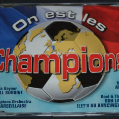 On est les Champions - Campionatul mondial CM Franta 1998 - CD audio original - Muzica Dance cat music