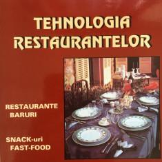 TEHNOLOGIA RESTAURANTELOR - Radu Nicolescu - Carti Industrie alimentara