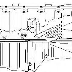 Baie ulei AUDI A4 limuzina 1.8 T - TOPRAN 110 915