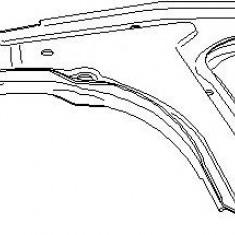 Brat, suspensie roata OPEL ASTRA F hatchback 1.6 i - TOPRAN 203 830