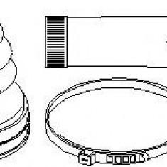 Ansamblu burduf, articulatie planetara OPEL MERIVA 1.7 CDTI - TOPRAN 207 494 - Burduf auto