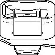 Suport, transmisie manuala FORD FOCUS ST170 - TOPRAN 301 806 - Tampon cutie viteze