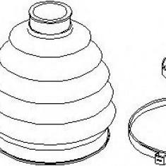 Set articulatie, planetara SEAT IBIZA V SPORTCOUPE 1.2 TDI - TOPRAN 110 807
