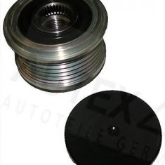 Sistem roata libera, generator DACIA LOGAN 1.5 dCi - AUTEX 654368 - Fulie