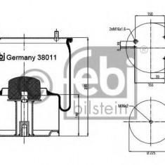 Burduf, suspensie pneumatica - FEBI BILSTEIN 38011