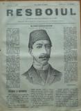 Ziarul Resboiul , nr. 71 , 1877 , gravura ; Mehmet Rehad Efendi