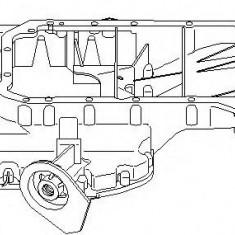 Baie ulei AUDI A4 limuzina 2.4 - TOPRAN 112 340