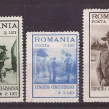 1931 - Expozitia Cercetaseasca, serie nestampilata cu sarniere