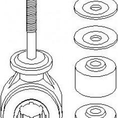 Chit reparatie, bieleta antiruliu OPEL ASTRA F hatchback 1.7 TDS - TOPRAN 206 941 - Bara stabilizatoare