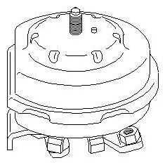 Suport motor SEAT TOLEDO  1.8 i - TOPRAN 102 741 - Suporti moto auto