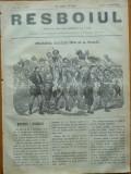 Ziarul Resboiul , nr. 72 , 1877 , gravura ; Turci intorcandu-se de la prada