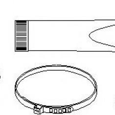 Ansamblu burduf, articulatie planetara FORD ESCORT Mk VII 1.4 - TOPRAN 301 253 - Burduf auto