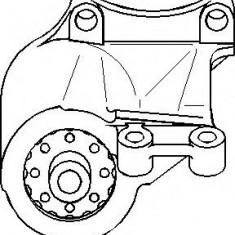 Suport, transmisie manuala VW TRANSPORTER / CARAVELLE Mk IV bus 2.4 D Syncro - TOPRAN 104 052 - Tampon cutie viteze