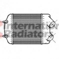 Intercooler, compresor VOLVO 460 L limuzina 1.9 Turbo-Diesel - VAN WEZEL 43004148 - Intercooler turbo