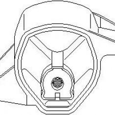 Suport, transmisie manuala AUDI A6 limuzina 1.9 TDI - TOPRAN 110 229 - Tampon cutie viteze