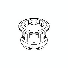 Suport, transmisie manuala AUDI 500 2.0 - TOPRAN 103 657 - Tampon cutie viteze