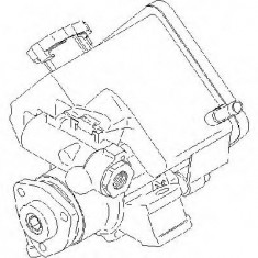 Pompa hidraulica, sistem de directie MERCEDES-BENZ SPRINTER 2-t bus 208 CDI - TOPRAN 407 981 - Pompa servodirectie