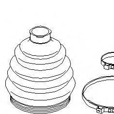 Set articulatie, planetara VW POLO 55 1.3 - TOPRAN 104 016
