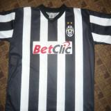Tricou al Echipei de Fotbal Juventus Torino, Jucator Del Piero nr 10, Masura L - Tricou echipa fotbal, Marime: L, Culoare: Alb