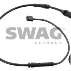 Senzor de avertizare, uzura placute de frana BMW 1 125 d - SWAG 20 93 9138 - Senzor placute