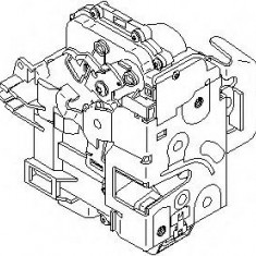 Incuietoare usa AUDI A6 limuzina 1.8 T - TOPRAN 113 553 - Incuietoare interior - exterior