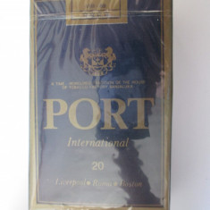 PACHET NOU TIGARI COLECTIE PORT DIN ANII 80 - Pachet tigari