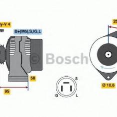 Generator / Alternator TOYOTA COROLLA Wagon 1.3 12V - BOSCH 0 986 038 011 - Alternator auto