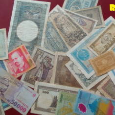 Licitatie Bancnote Diferite Romania - unele f. valoroase!!! - Bancnota romaneasca, An: 1952
